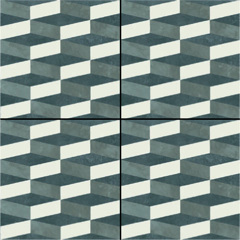 Mutina-Azulej cubo nero _20x20rett. 2nd choice €.35sqm