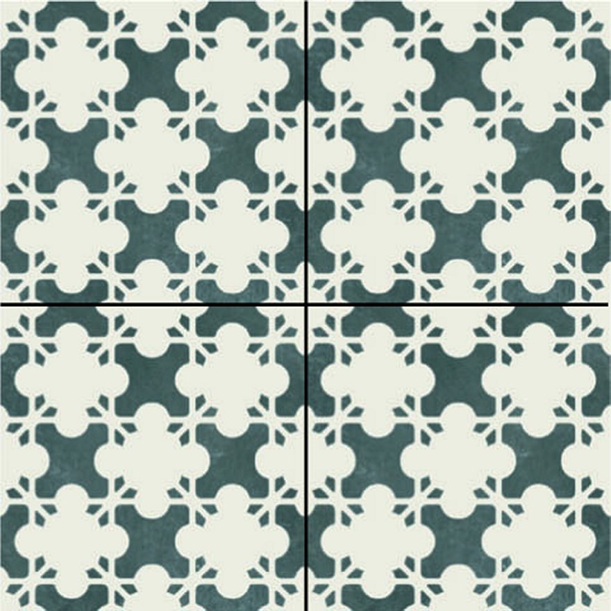 Mutina-Azulej estrela nero _20x20rett. 1X choice €.55sqm