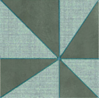 Mutina-Azulej Gira Grigio _20x20rett. 2nd choice €.35sqm