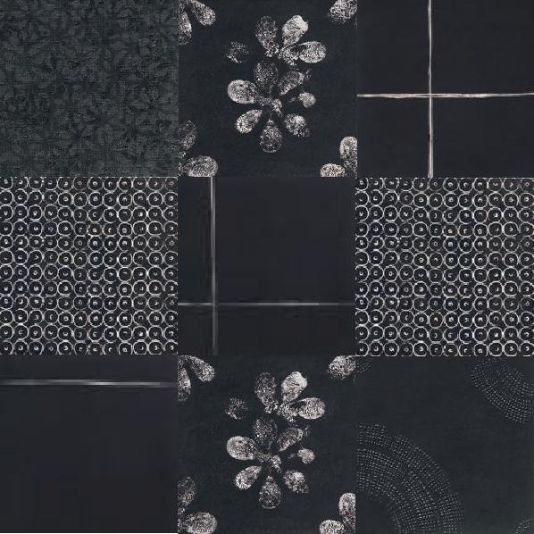 Mutina_Chimya-mix decori singoli Black_2nd-choice