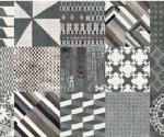 Mutina-Azulej mini-combination nero_20x20ret.2nd choice €.35sqm