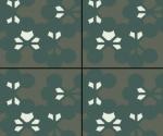 Mutina-Azulej flores nero_20x20rett. 2nd choice €.35sqm