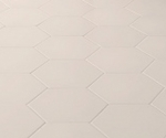 Mutina_Phenomenon Hexagon bianco_16,5x14,5 2^*choice