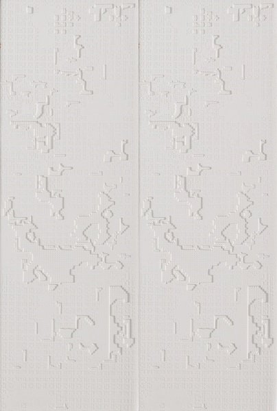 Mutina_Bas Relief Cloud bianco 18x54 2nd choice €.65sqm