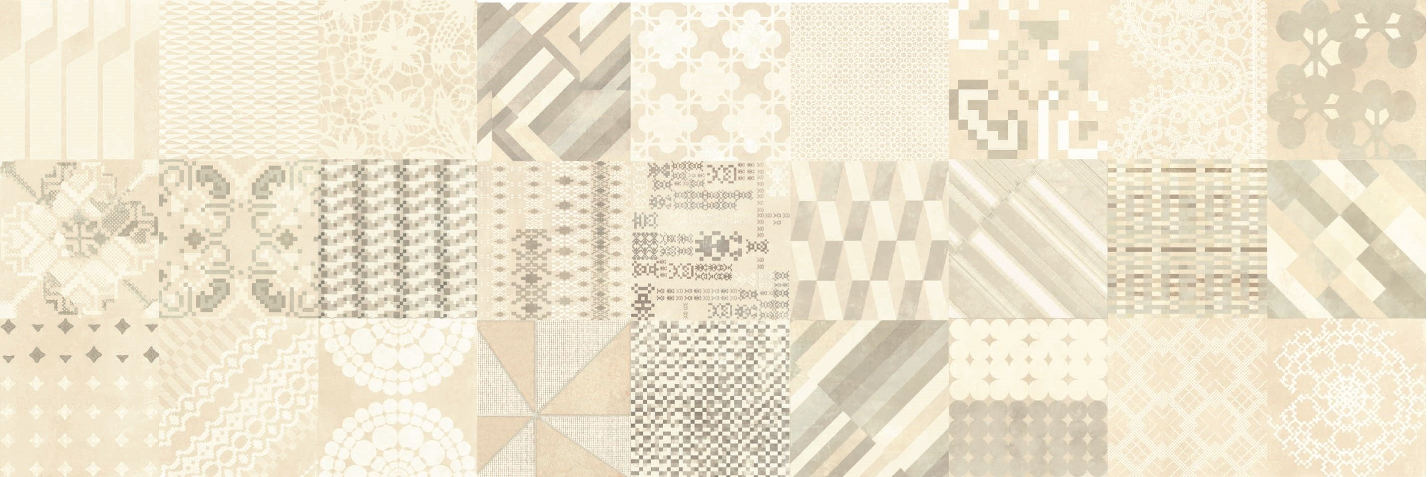 Mutina-Azulej  Combination bianco _20x20rett. 2nd choice €.35sqm