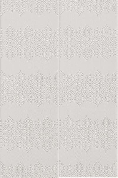 Mutina_Bas relief Garland bianco 18x54 2nd choice €.65sqm