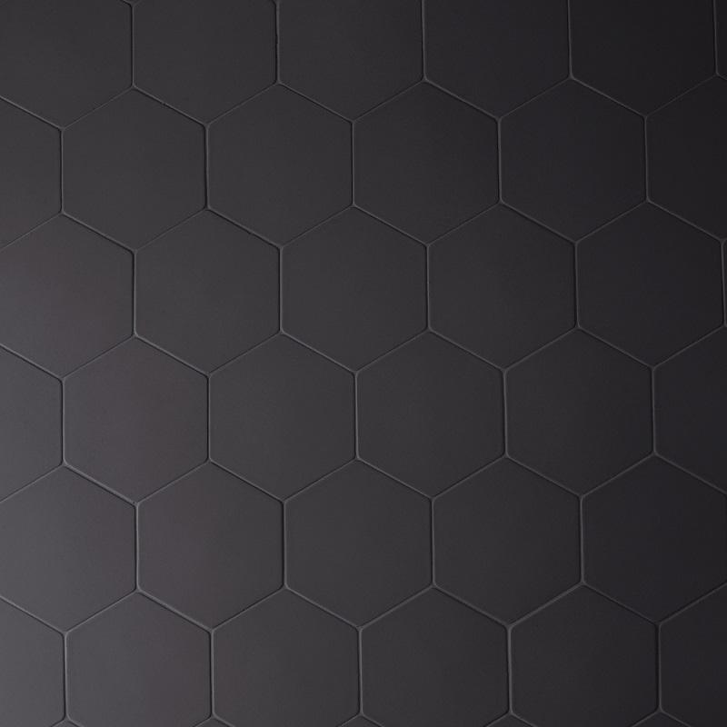 Mutina_Phenomenon Hexagon  Nero_16,5x14,5 2^*choice €.40sqm